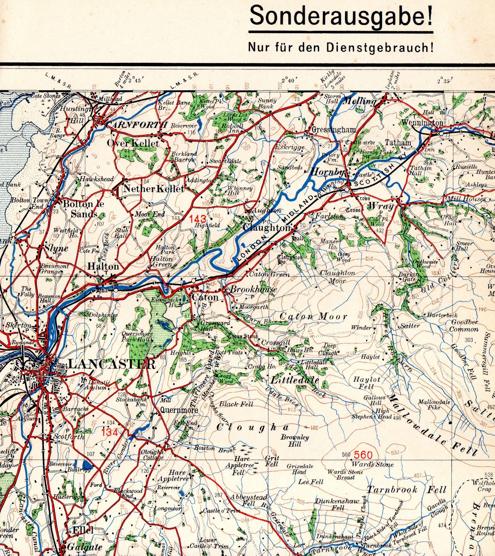 karte von wales england Karte von England und Wales, 1938 39 – David Archer : Ordnance